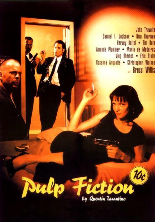 Pulp Fiction 1994 Hd Dual Tarantinga Violencia Col