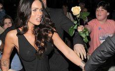 Todo es cine: Un beso y una flor para Megan Fox