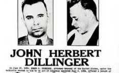 John Dillinger, enemigo público número 1