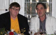 Venecia 2009: Michael Moore y Oliver Stone nacidos para ser polémicos y Matt Damon es el oficinista chivato