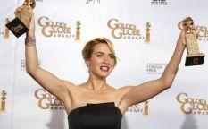 Conexión Oscar 2009: Kate Winslet se lleva un par de Globos bajo el ritmo hindú