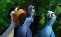 """Celda de cifras: Las aves tropicales de """"Rio"""" pueden con """"Scream 4"""""""