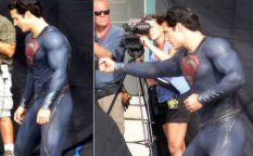 """Espresso: Henry Cavill y Russell Crowe en el rodaje de """"Superman: Man of steel"""""""