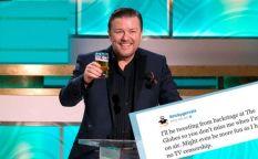 Espresso: Ricky Gervais ya calienta motores para los Globos de Oro 2012