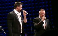 Actores que dan la nota: Hugh Jackman y Russell Crowe de karaoke