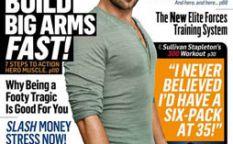 Revista de revistas: Sullivan Stapleton físico guerrero, Elisabeth Moss desenfadada, Logan Lerman y Emma Watson al alza con