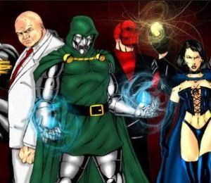 Comicine Villanos Y Villanos En Marvel El Cine De El Cine De