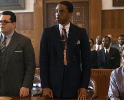 Espresso: Chadwick Boseman es el abogado Marshall y Miles Teller se reinserta después de combatir como soldado