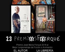 """Espresso: """"El autor"""" y """"La librería"""" se reparten el triunfo en los premios Forqué"""