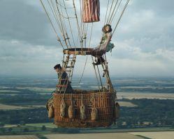 """Espresso: """"The aeronauts"""", Eddie Redmayne y Felicity Jones buscan batir un record de altitud en globo"""