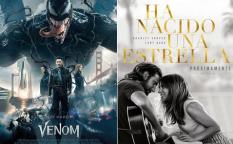"""Celda de cifras: """"Venom"""" y """"Ha nacido una estrella"""" relanzan la taquilla del mes de Octubre"""