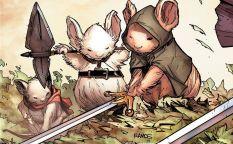 Espresso: Ratones medievales y un joven matrimonio intentando sobrevivir en un mundo sin recuerdos