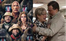 """Celda de cifras: """"Jumanji"""" mantiene el nivel y el peor estreno de Clint Eastwood en 40 años"""