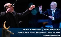 Espresso: Ennio Morricone y John Williams reciben el premio Princesa de Asturias de las Artes 2020