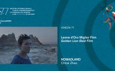 Venecia 2020: La nómada que busca la estabilidad en un mundo a la deriva conquista el León de Oro