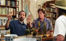 Entre botellas de vino