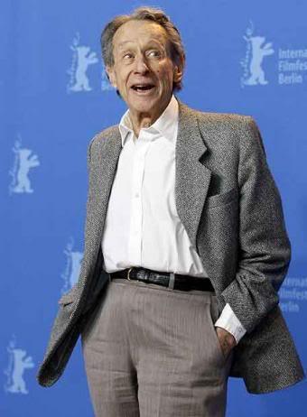 Arthur Penn el el homenaje que recibió del Festival de Berlín en 2007