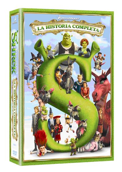 DVDShrekseriecompleta