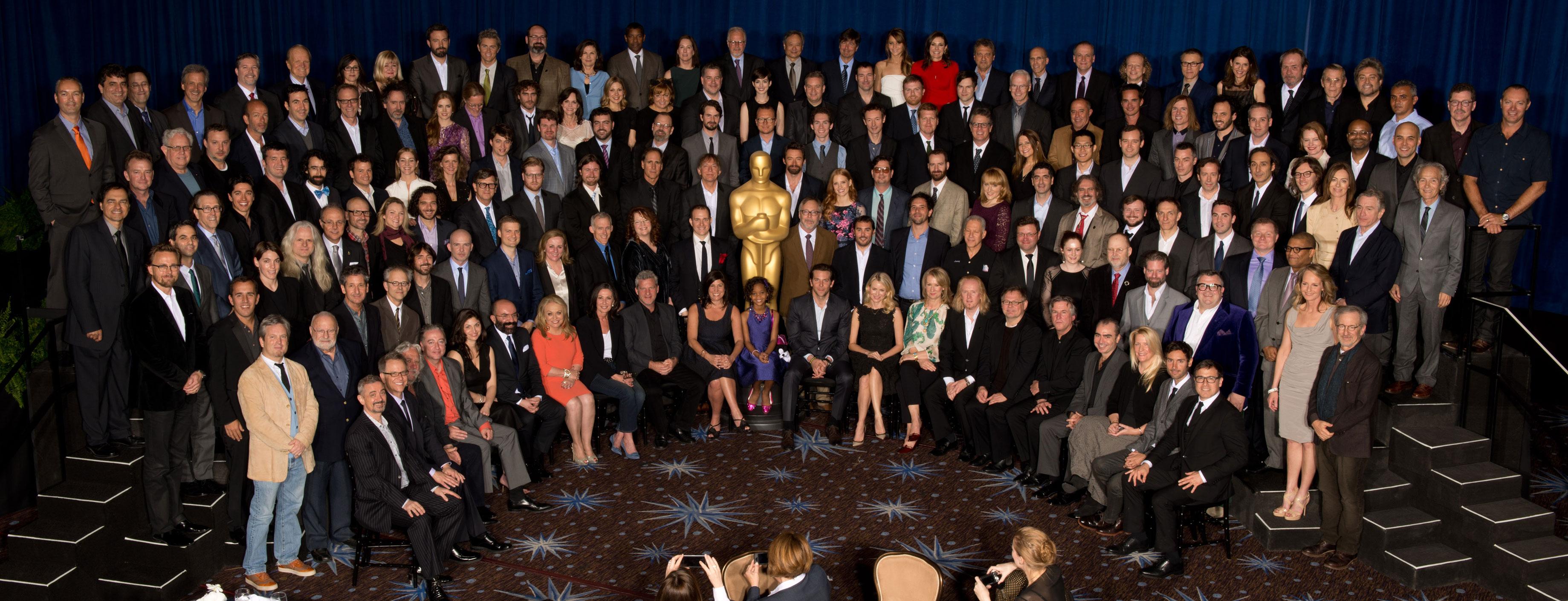 PREMIOS >> The Oscars 2013 (Ganadores Pág. 4) - Página 3 ConexionOscar2013Almuerzonominados