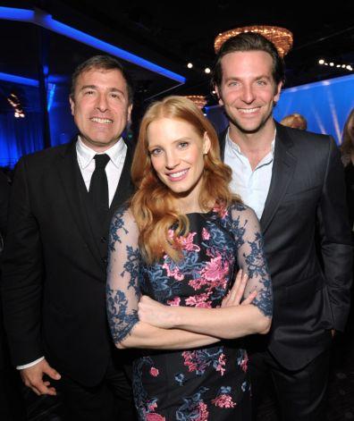 PREMIOS >> The Oscars 2013 (Ganadores Pág. 4) - Página 3 ConexionOscar2013AlmuerzonominadosORussellChastainCooper