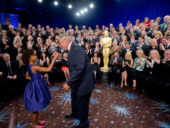 PREMIOS >> The Oscars 2013 (Ganadores Pág. 4) - Página 3 ConexionOscar2013AlmuerzonominadosQuvenzhane