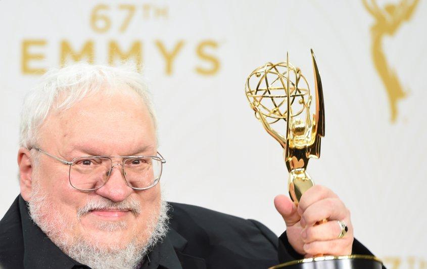 Emmys2015JuegodetronosGeorgeRRMartin