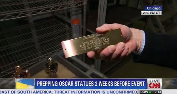 Leonardo DiCaprio hipotético ganador del Oscar por El lobo de Wall Street