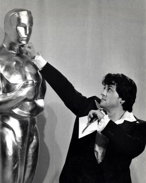 Sylvester Stallone at the Dorothy Chandler Pavillion in Los Angeles, California (Photo by Ron Galella/WireImage)