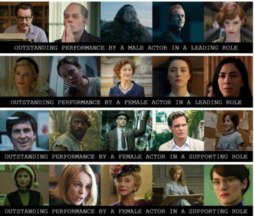 Oscar2016SAGNominados
