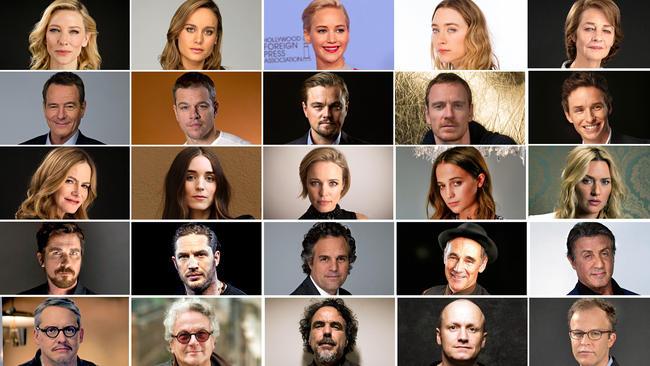 Oscar2016Actoresnominados
