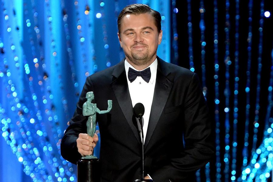 SAG2016LeonardoDiCaprio