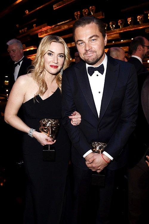 Bafta2016KateWinsletLeonardoDiCaprio
