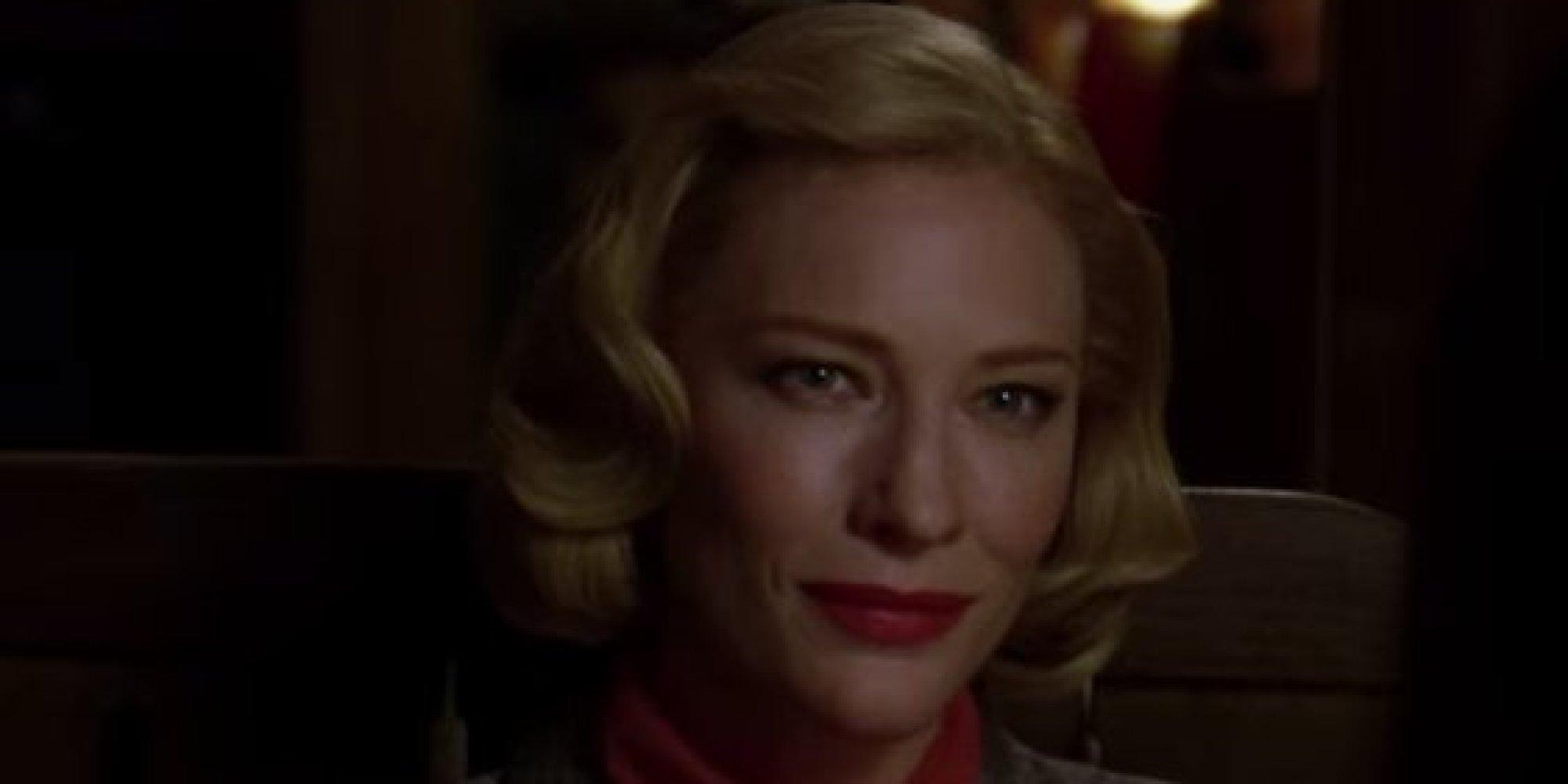 Cate Blanchett por Carol