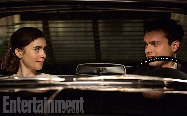 RULES DONíT APPLY (2016) Lily Collins and Alden Ehrenreich