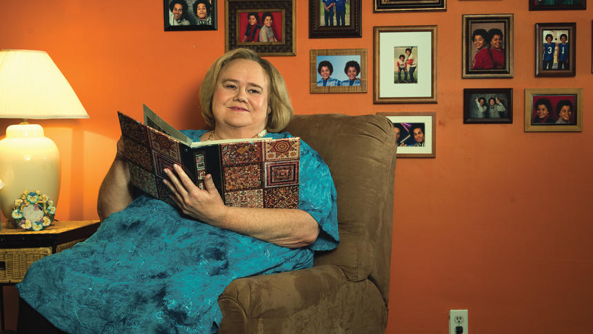 """Undated courtesy photo of Louie Anderson as Christine Baskets. The last time we saw Louie Anderson on a TV series he was sporting a swimsuit while competing on the celebrity diving show """"Splash."""" Starting Thursday, Jan. 21, 2016 he's returning to TV with a look that might surprise you. In """"Baskets,"""" the St. Paul native is all decked out in drag for his role as Costco-loving, domineering mom Christine Baskets. Baskets debuts on Thursday and stars Zach Galifianakis. Photo courtesy of FX: Frank Ockenfels."""