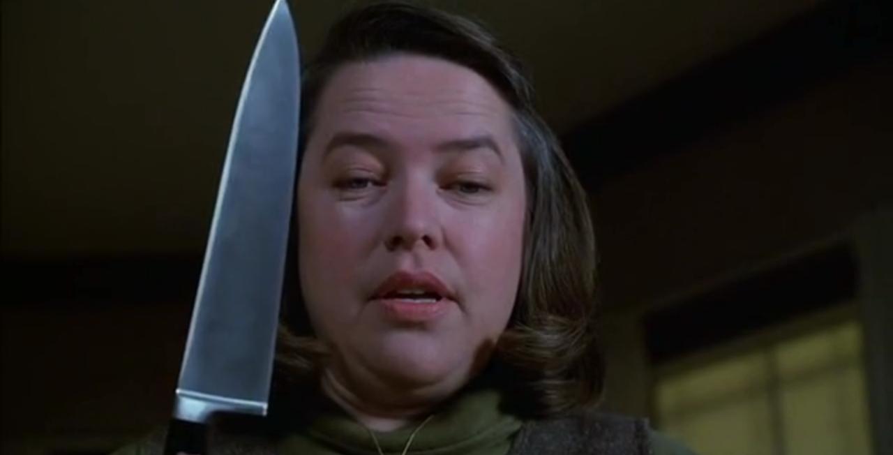Kathy Bates en Misery