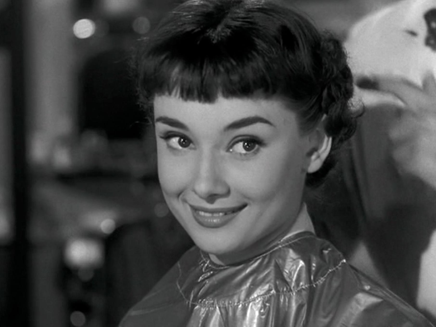 Audrey Hepburn en Vacaciones en Roma
