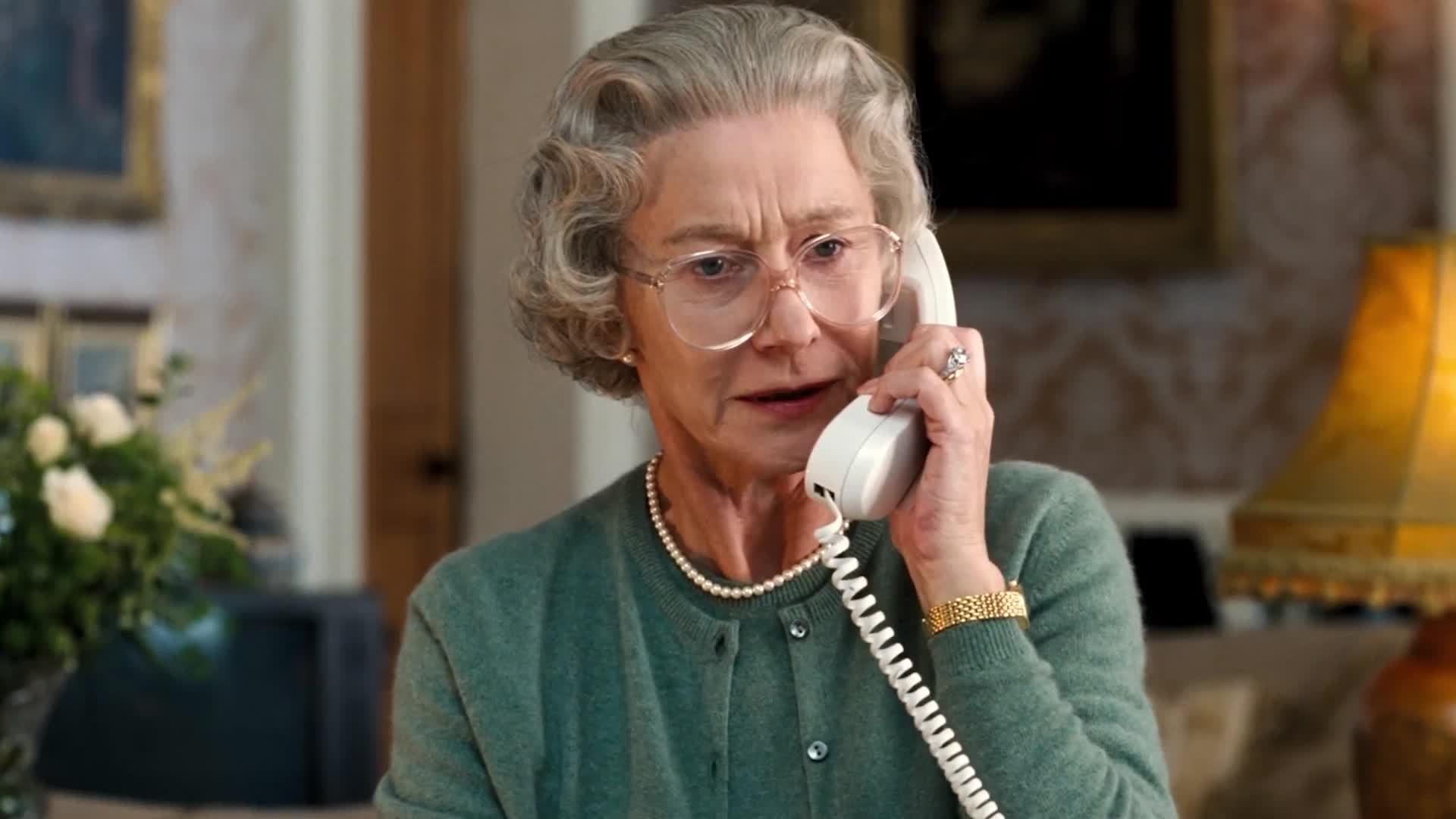 Helen Mirren en La reina
