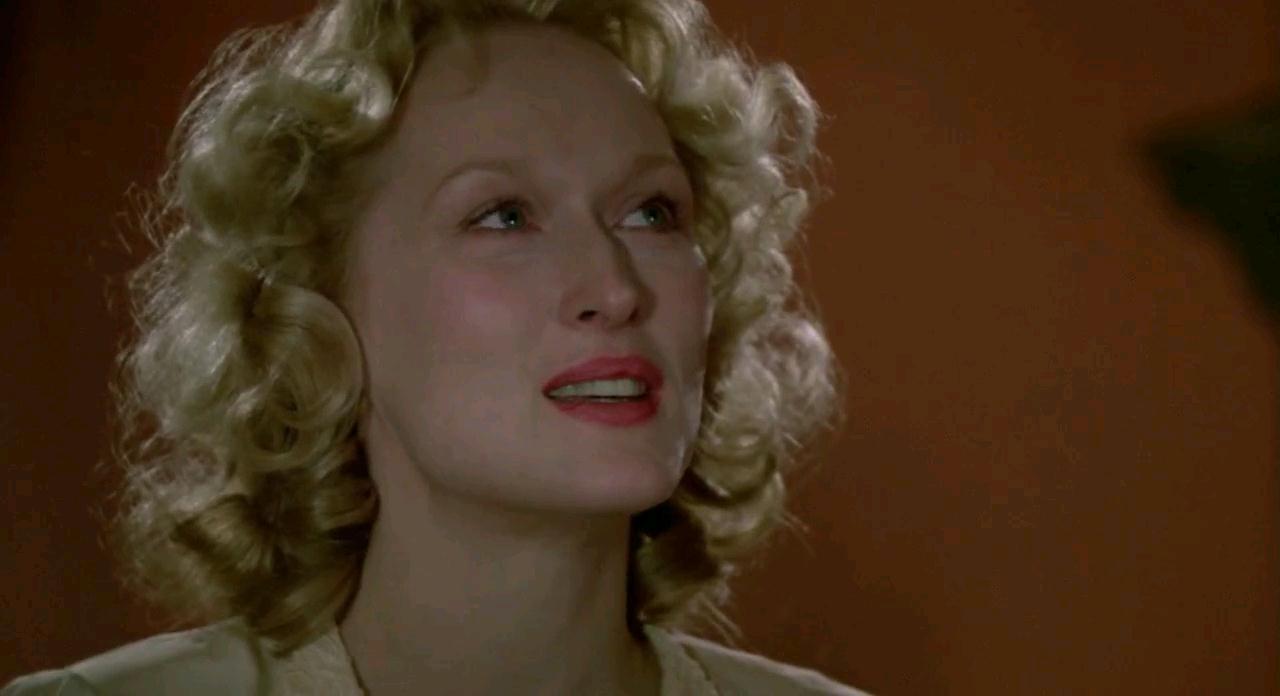 Meryl Streep en La decisión de Sophie