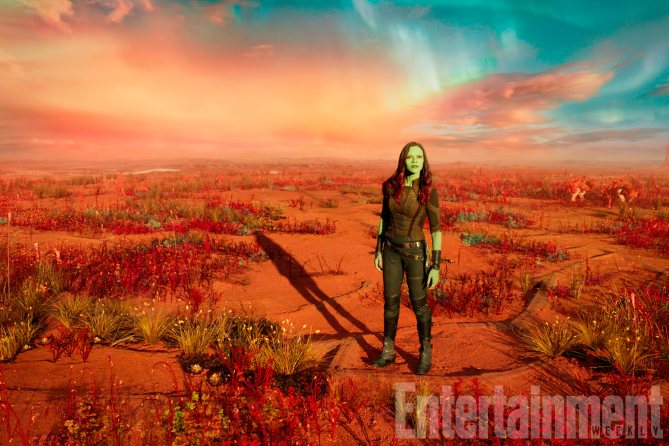Guardians Of The Galaxy Vol. 2 Gamora (Zoe Saldana) Ph: Film Frame ©Marvel Studios 2017