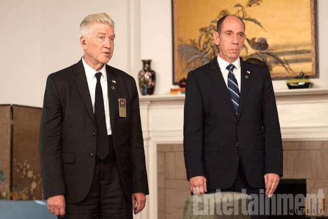 Twin Peaks Season 1 Air Date: 2017 David Lynch and Miguel Ferrer