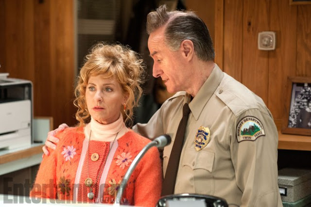 Twin Peaks Season 1 Air Date: 2017 Kimmy Robertson and Harry Goaz