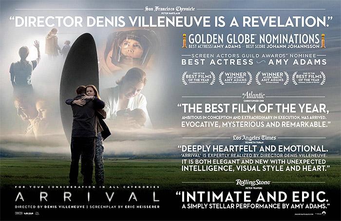 Oscar2017PeliculaFYCLallegada