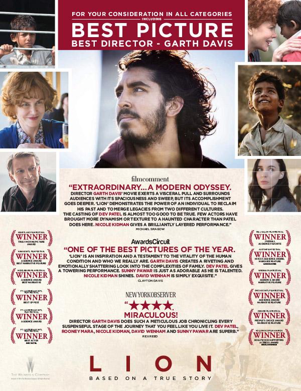 Oscar2017PeliculaFYCLion