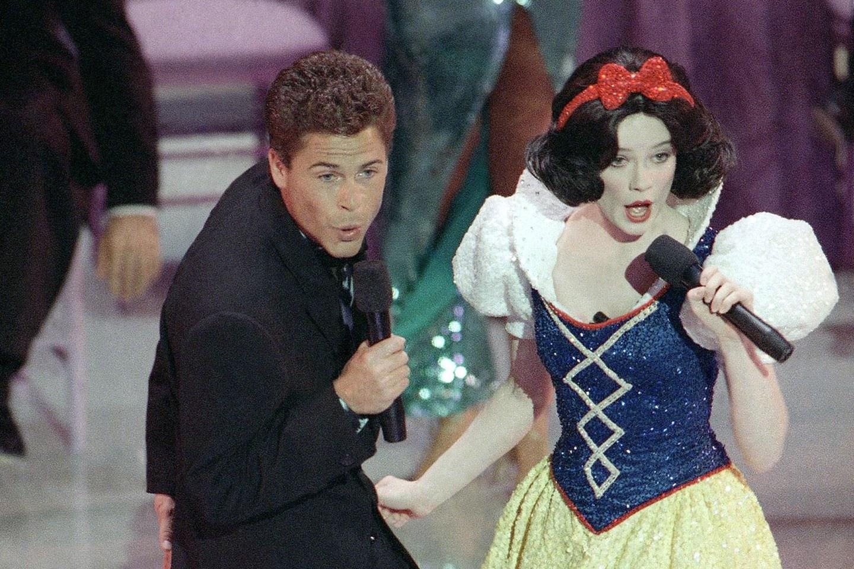 Rob Lowe en los Oscars de Allan Carr