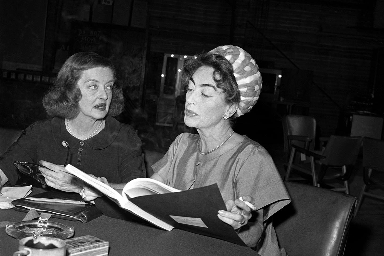 Bette y Joan amigas y residentes en Tinseltown