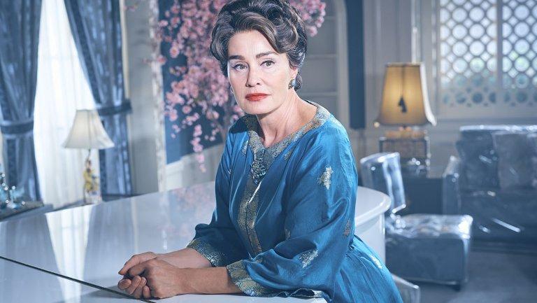 Jessica Lange como Joan Crawford en Feud