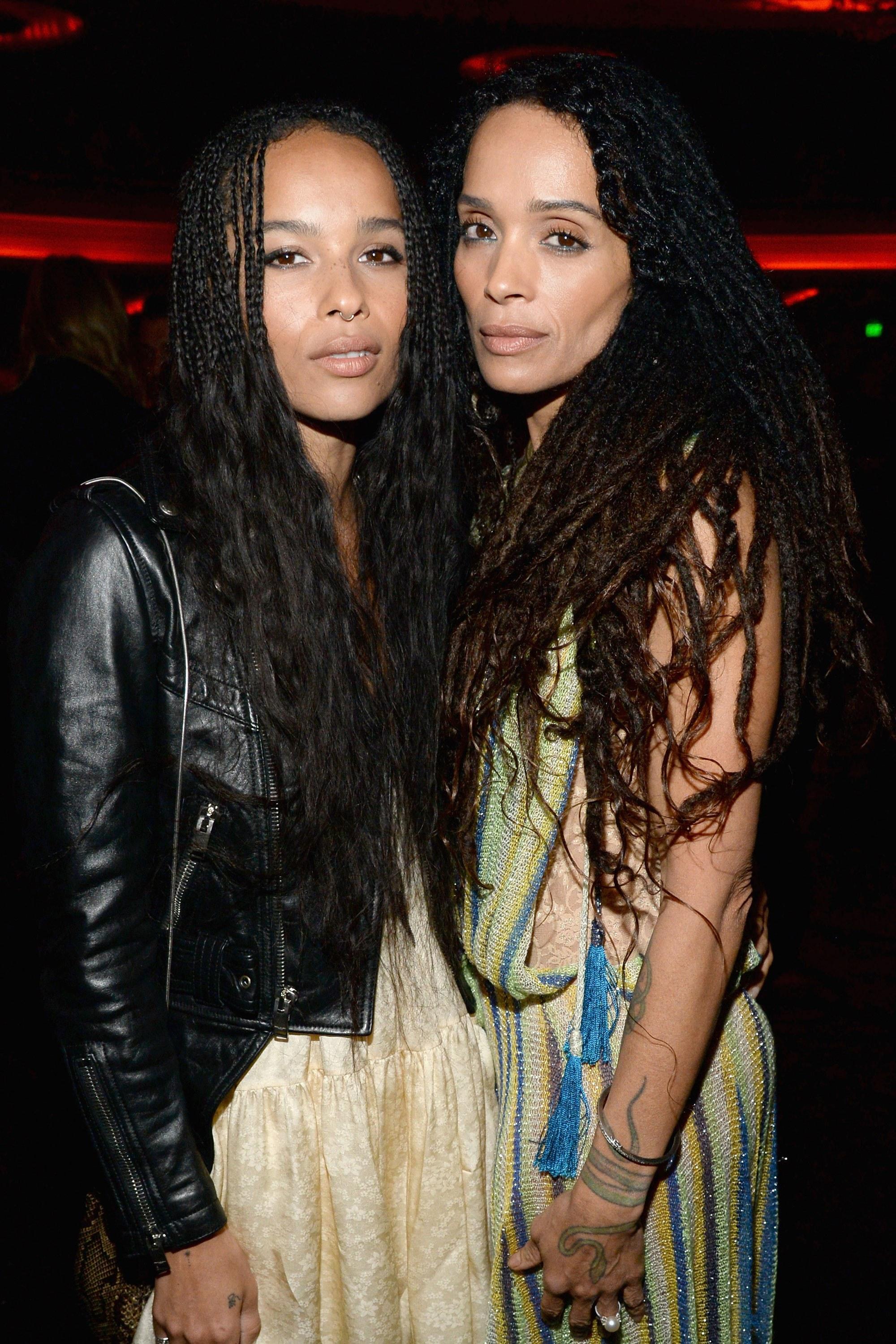 Lisa Bonet y su hija Zoe Kravitz
